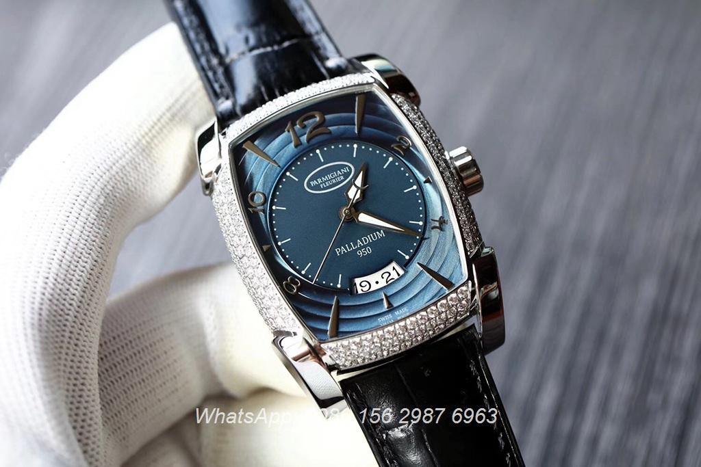 P125XD16, Parmigiani Kalpa Swiss Iced blue