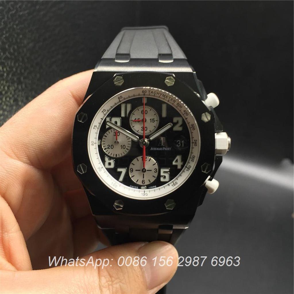 A295Z8, AP 12SEC 3126 Chronograph Black