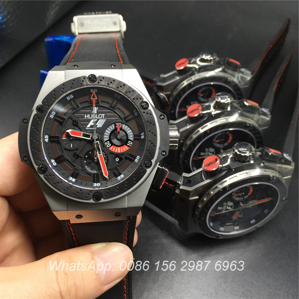 H165Z7, Hublot King Power F1 ETA 7750 Chronograph