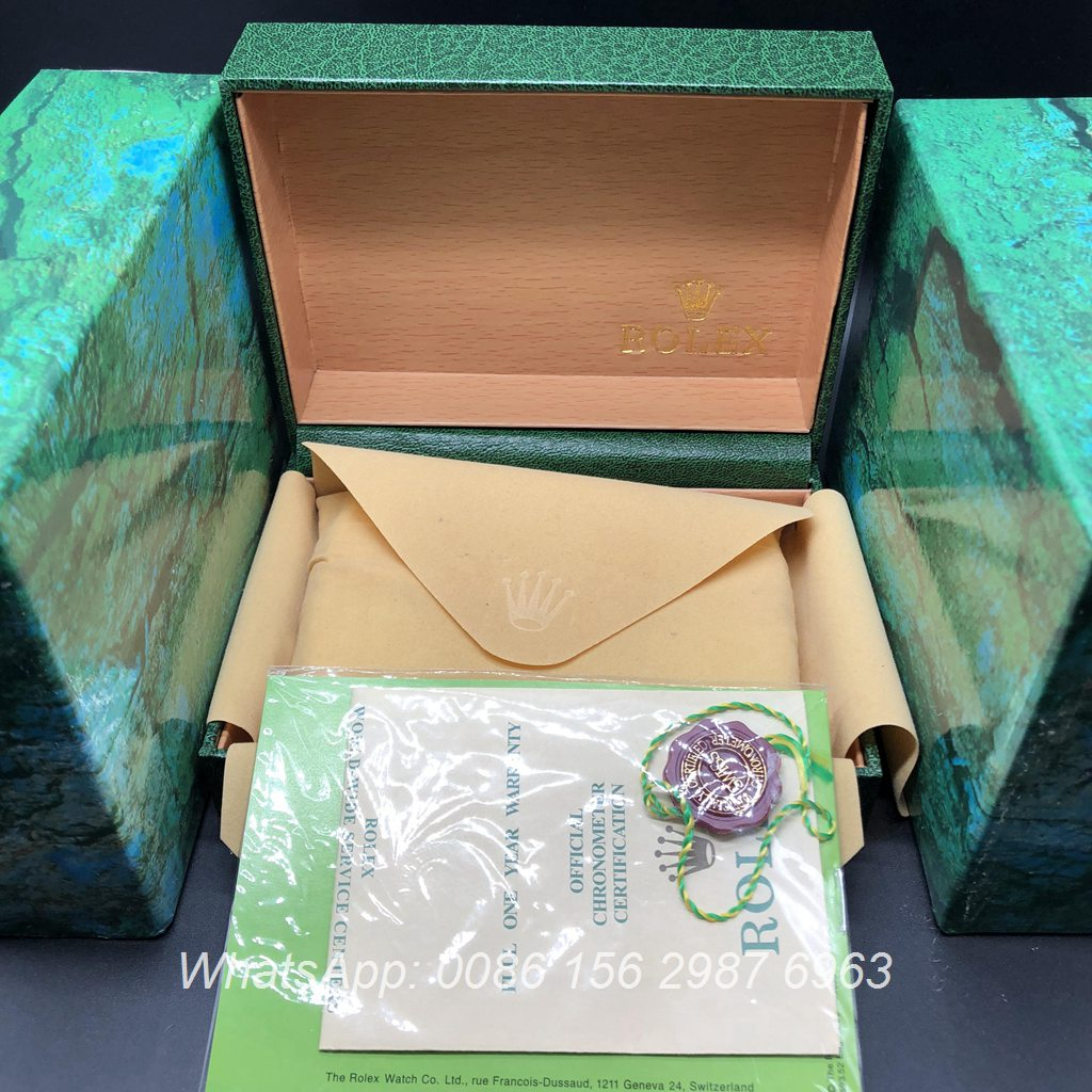 Rolex box #12 Smaller cheap box 16x12x6cm