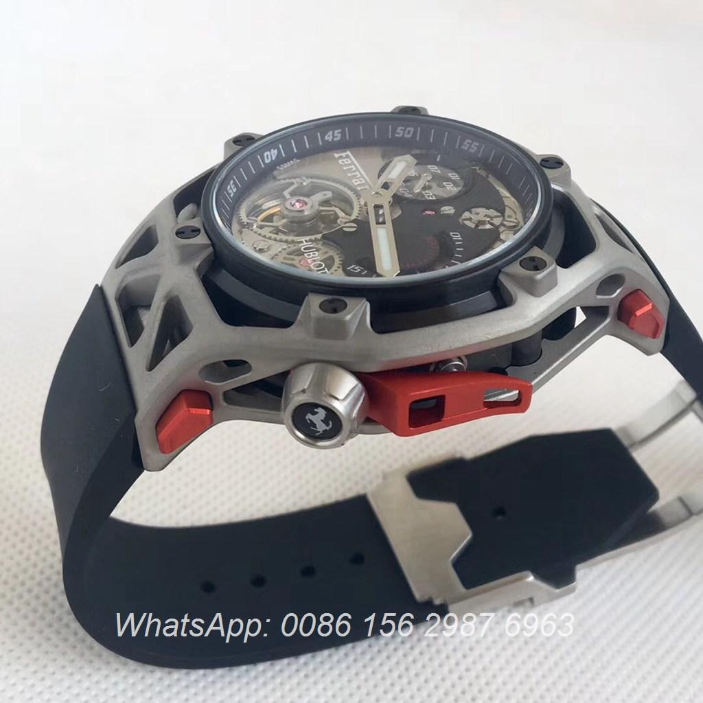 H075HL21, Hublot Techframe Ferrari automatic Titanium