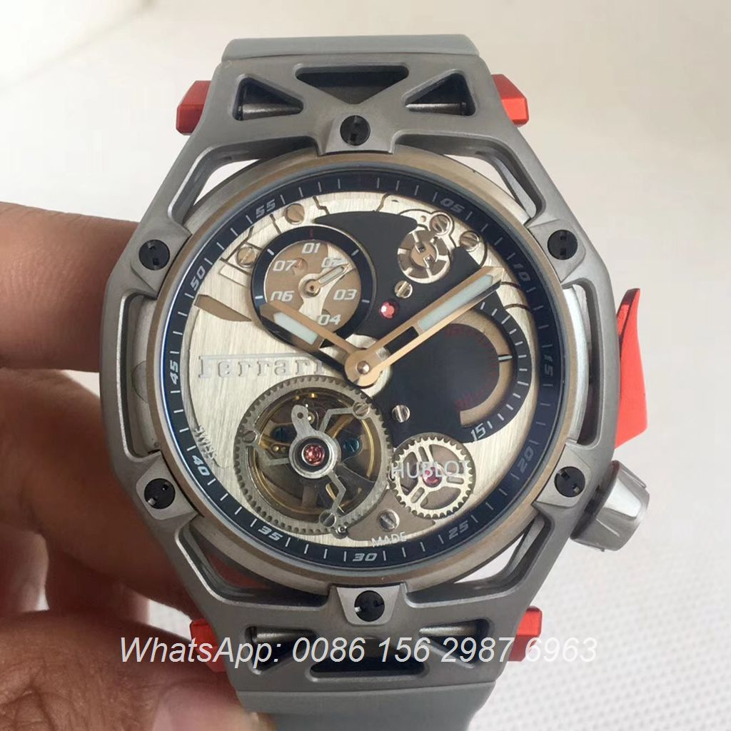 H075HL23, Hublot Ferrari 70th anniversary Techframe Gray