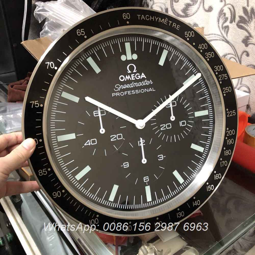 CLOCK46, Omega Seamaster Wall clock battery