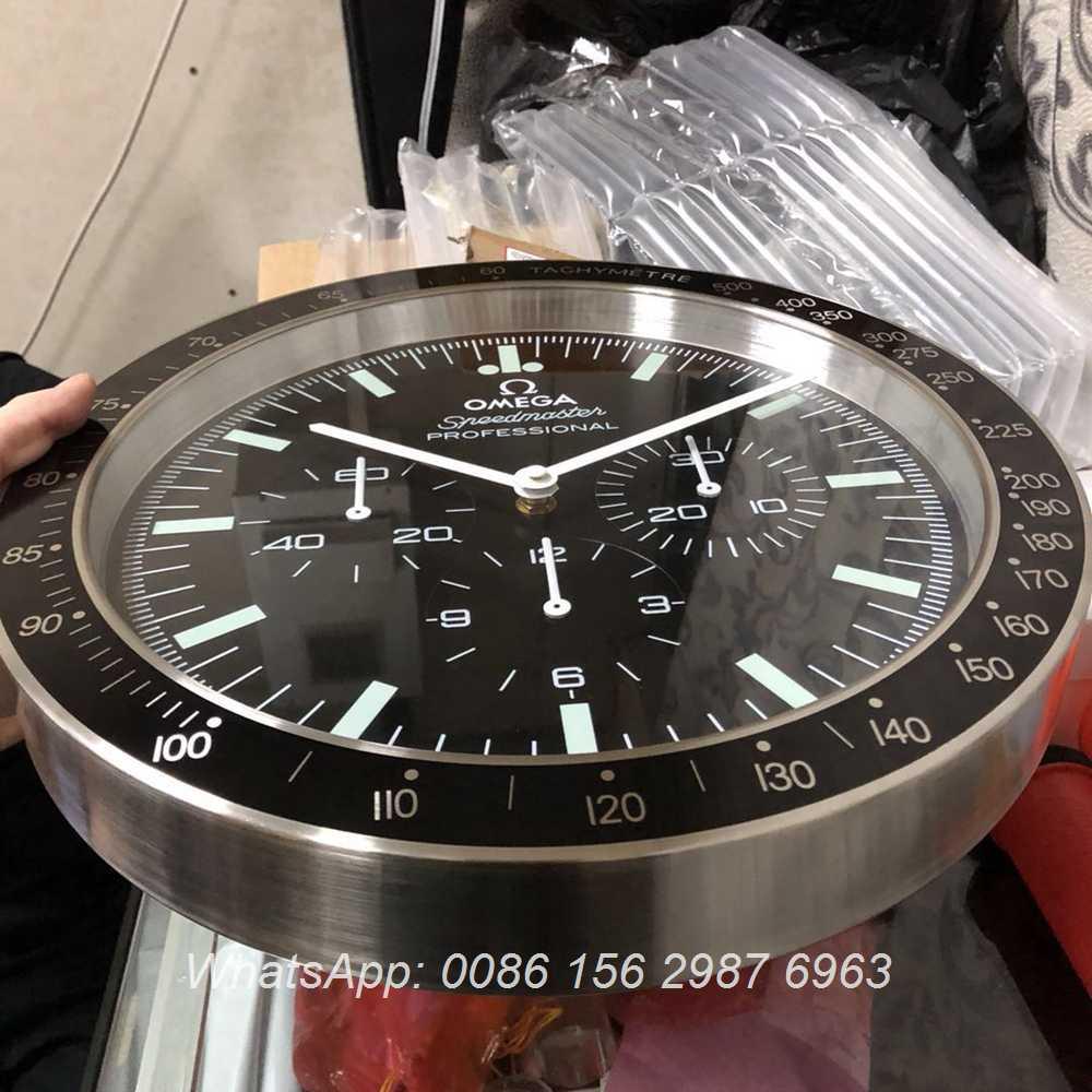 CLOCK46, Omega Seamaster Wall clock battery