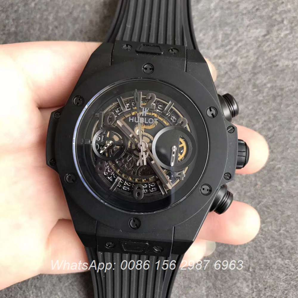 H170WT57, Hublot Black BigBang 411.NM.1170.RX