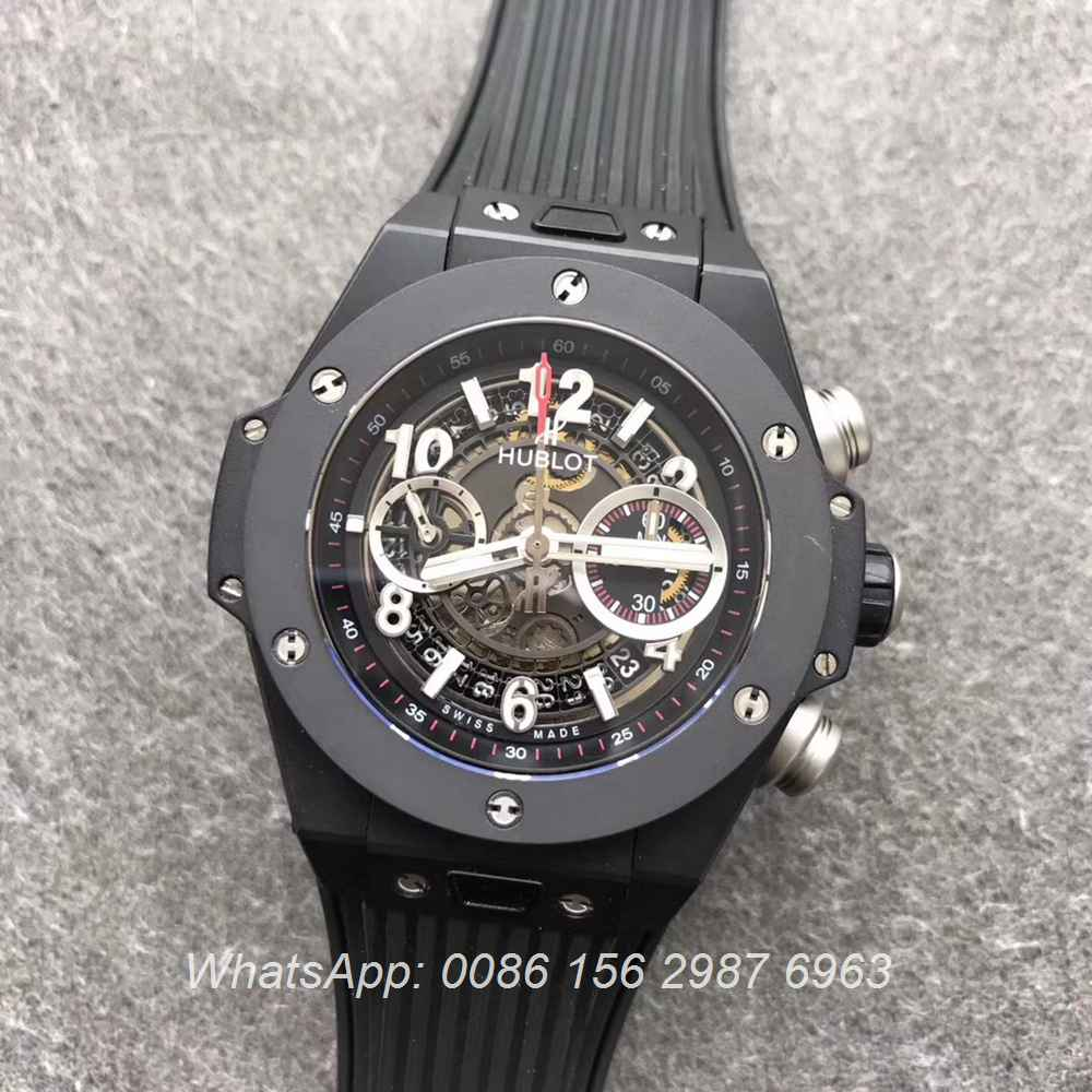 H170WT58, Hublot 7750 Big Bang black AB factory