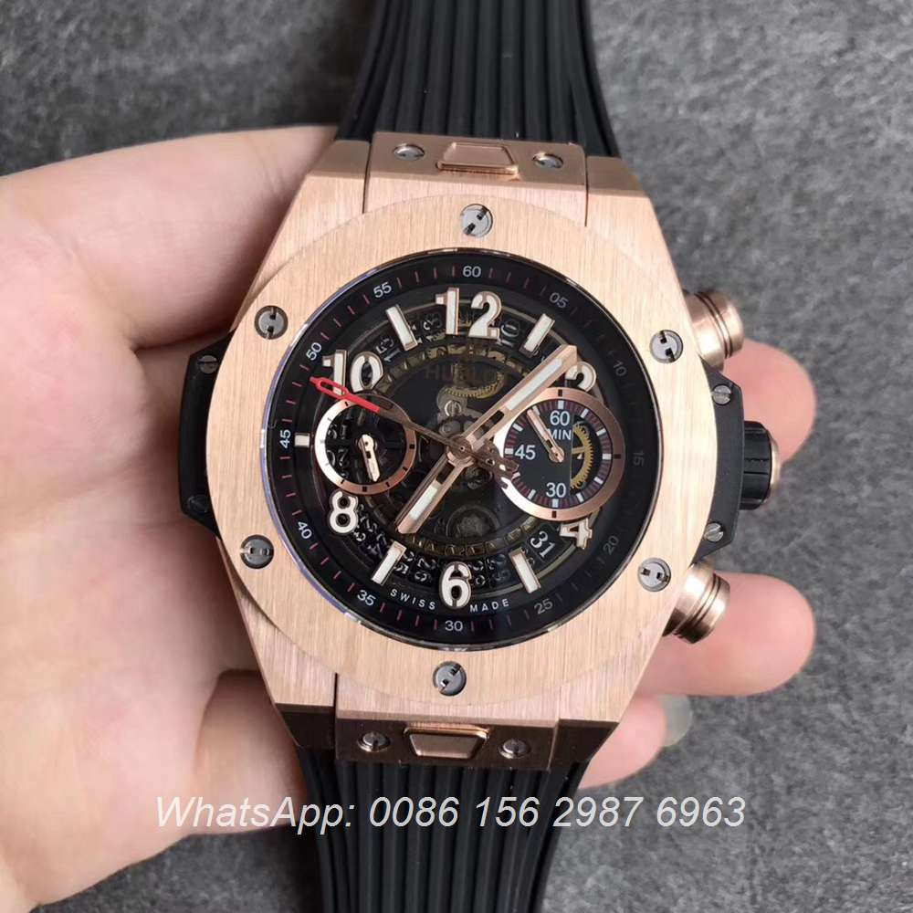 H170WT61, Hublot Big Bang rose gold HUB124Unico