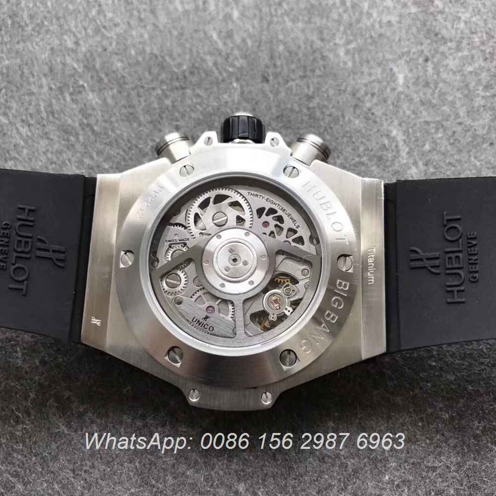 H170WT62, Hublot Big Bang silver 7750 Swiss