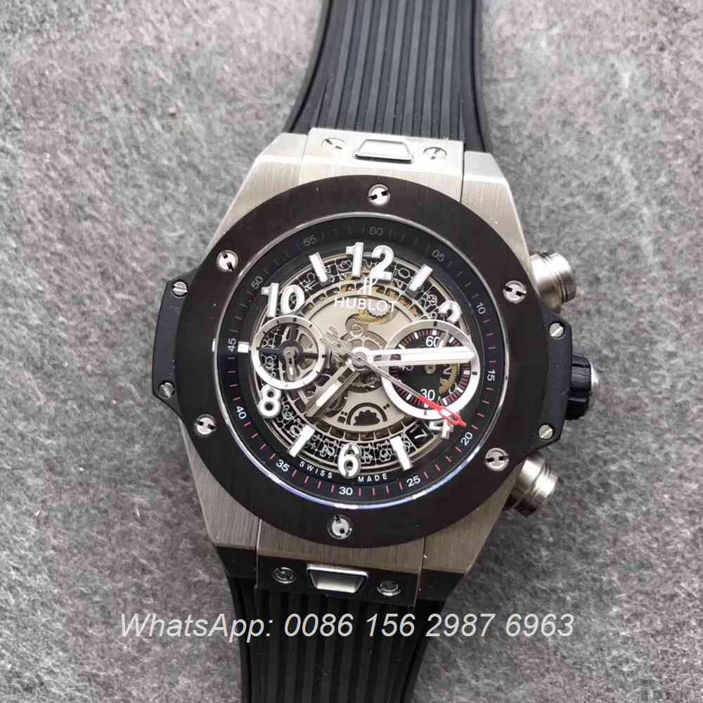 H170WT63, Hublot Big Bang Swiss silver/gray