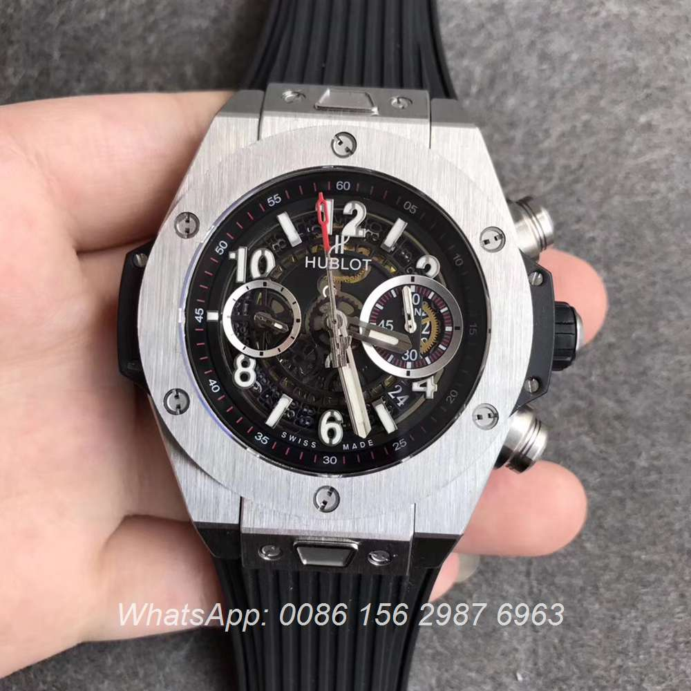 H170WT64, Hublot Big Bang Swiss 2018 Silver/black