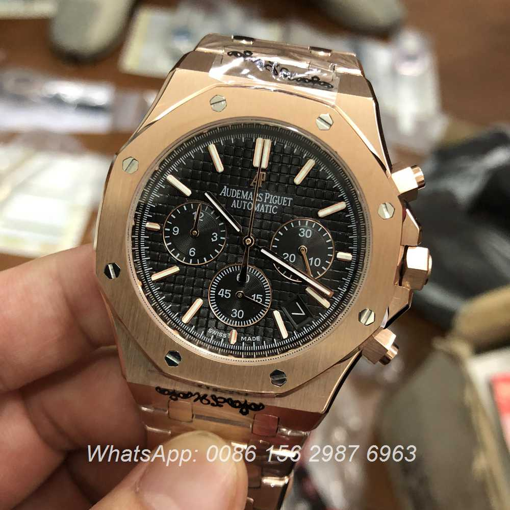 A038MT52, AP rose gold VK quartz full works