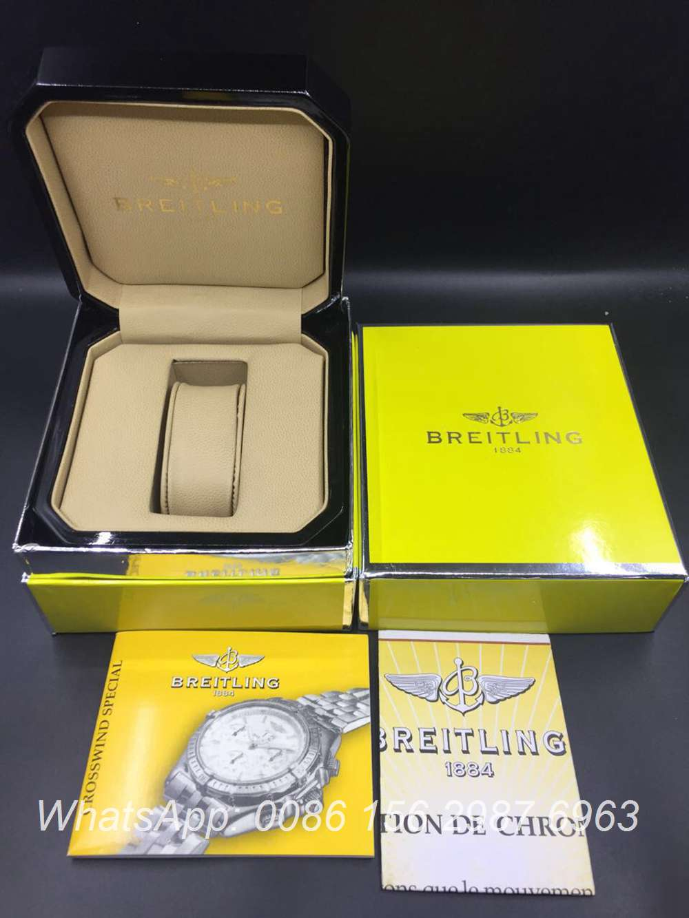 Breitling box #49 Wooden