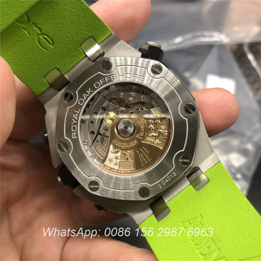 A235WT25, AP Royal Oak Offshore Green JF factory Cal.3126