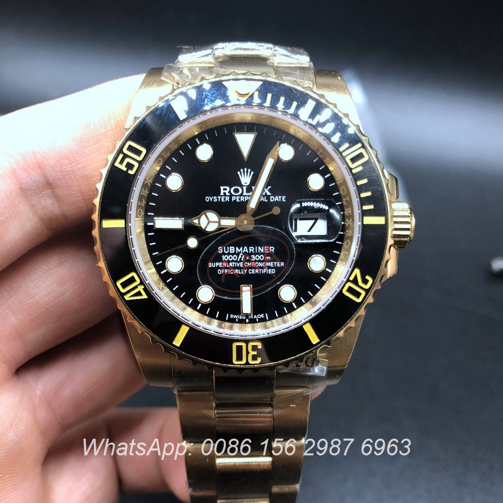 R023AS17, Rolex SUB Yellow gold