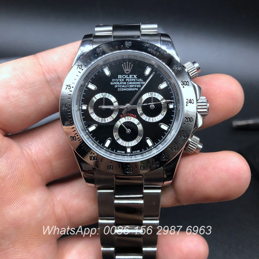 R017AS18, Rolex Daytona Automatic Silver