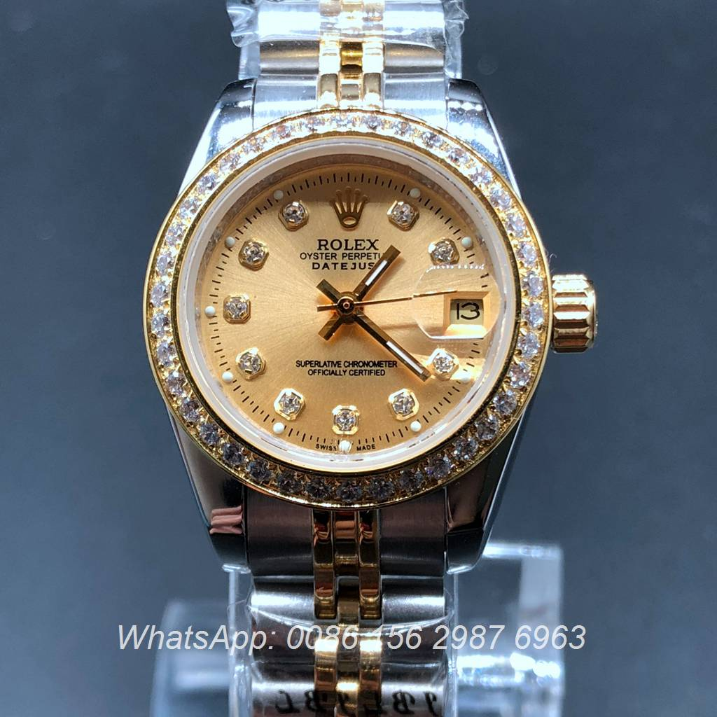 R021MH28, Rolex Datejust women 26mm two tone