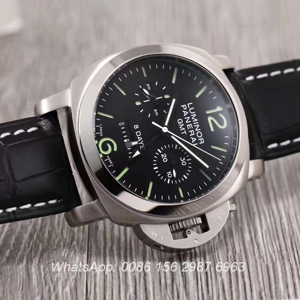 P030HZ99, Panerai automatic 44mm silver and black