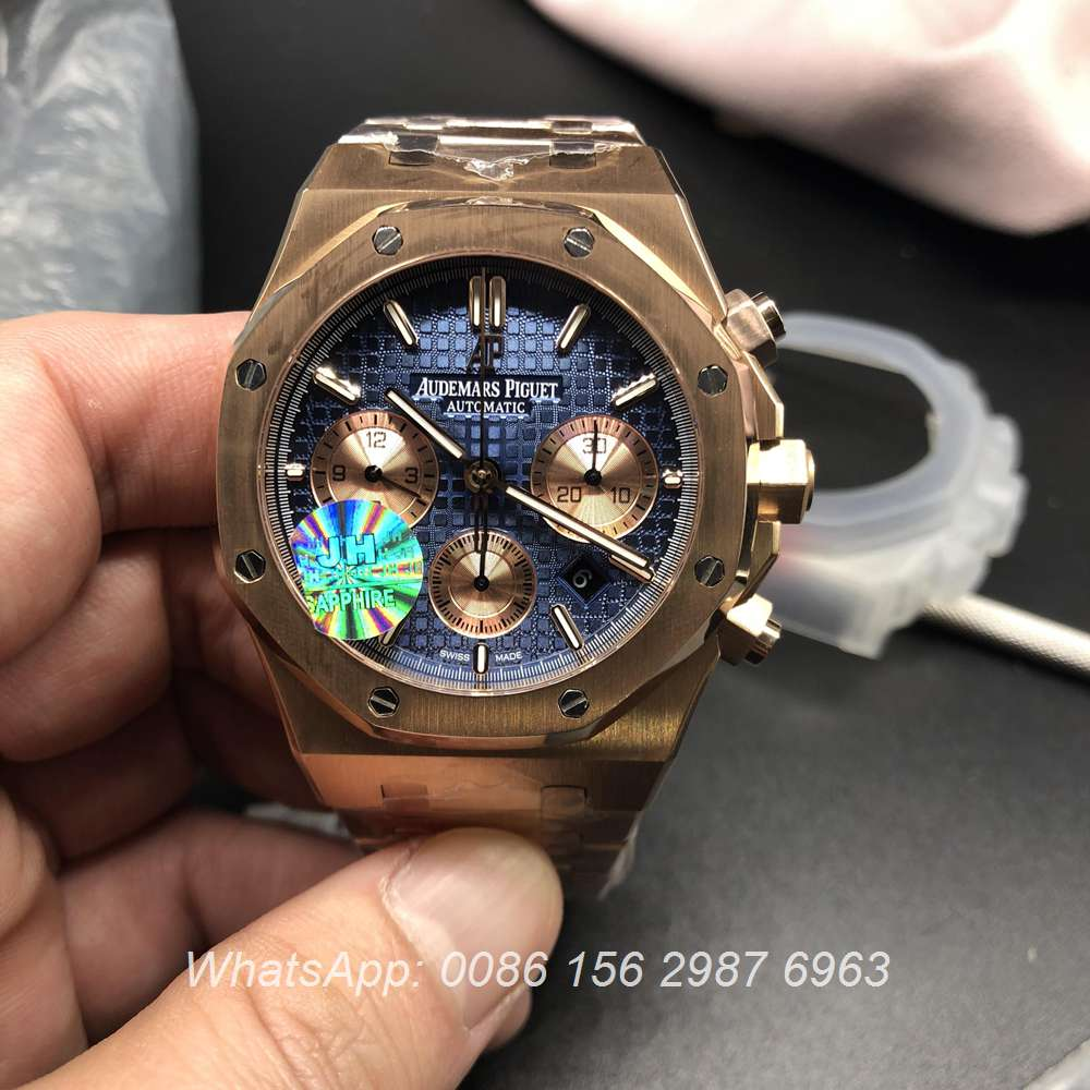 A155WT91, AP Chronograph rose gold 7750 from JF factory