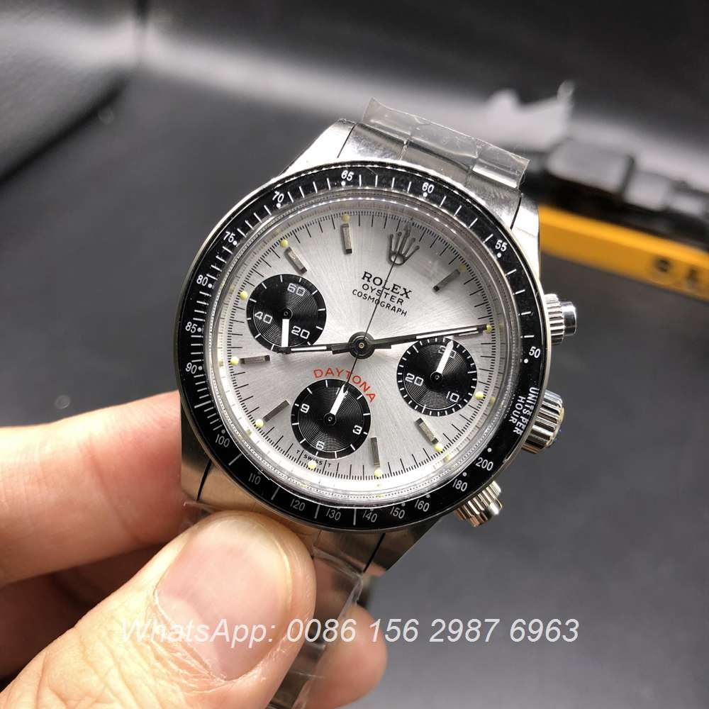 R105Z106, Rolex Daytona Paul Newman 7750 full works
