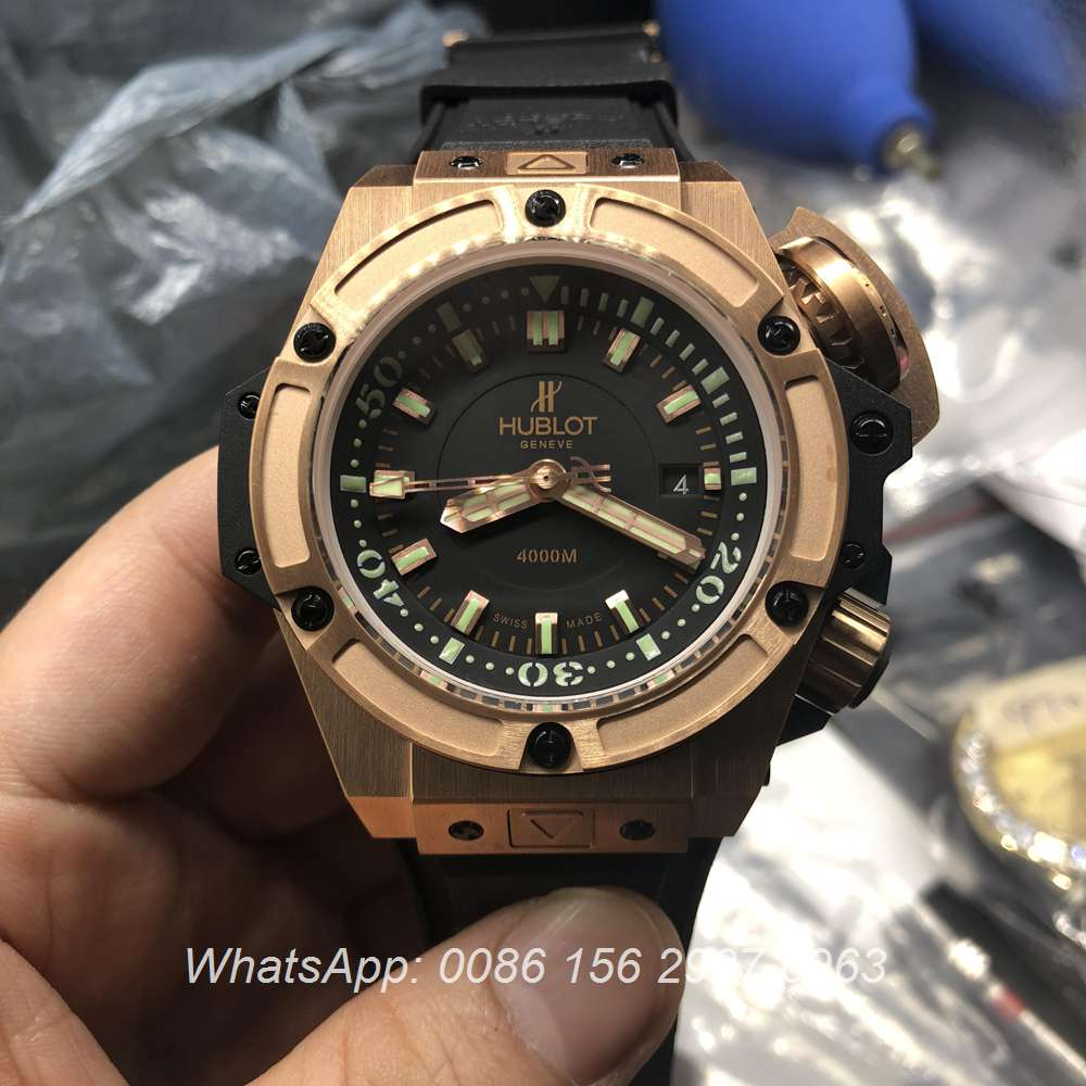 H225WT115, Hublot Oceanographic 4000 ETA 7750 Rose gold