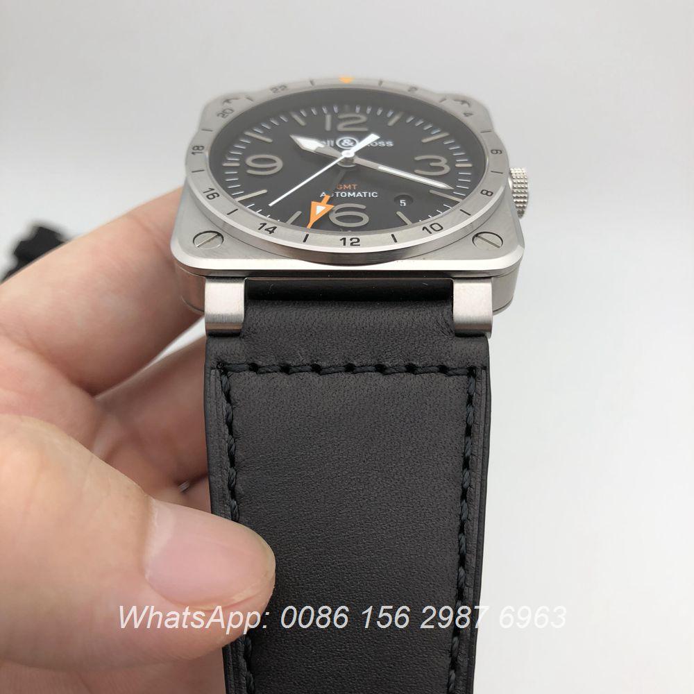BR115WT123, Bell Ross GMT ETA 2824 high grade automatic watch