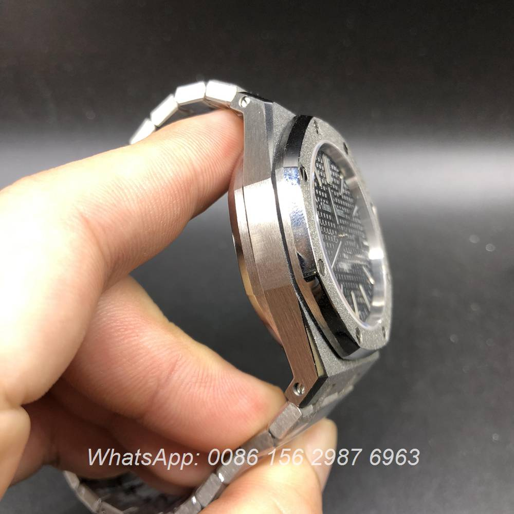A040DK126, AP frosted case automatic watch silver/black