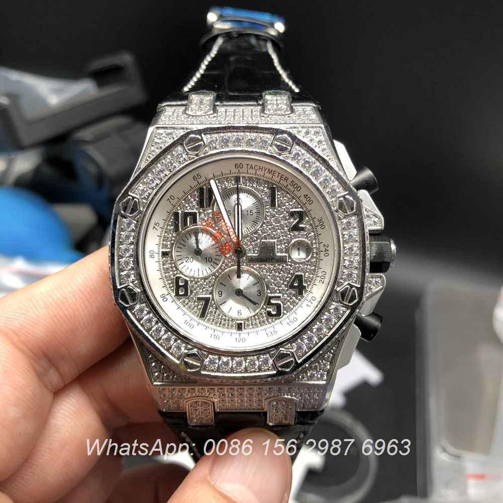 AP070XJ129, AP iced OS quartz silver with black leather