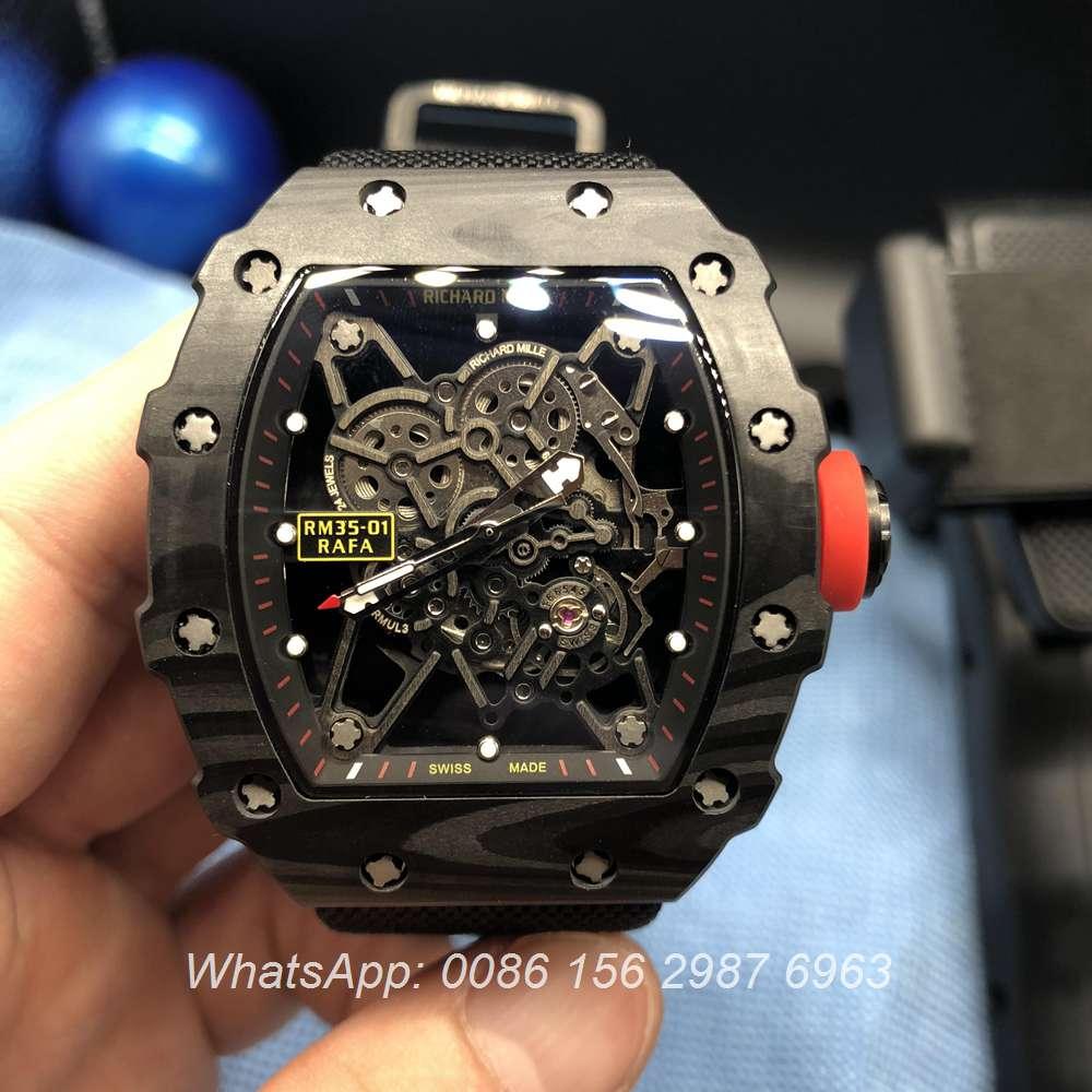 R150XD136, RM35-01 Richard Mille carbon case automatic men's watch