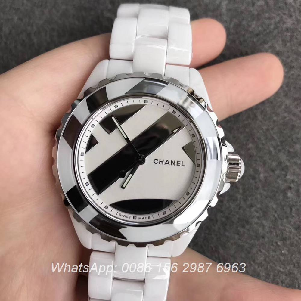 C195WT139, J12 Intense ETA 2892 Ceramic 38mm KOR factory