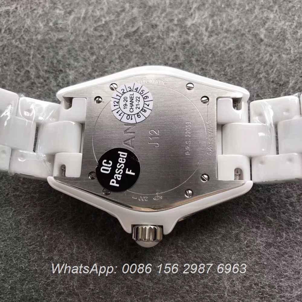 C195WT139, J12 Intense ETA 2892 Ceramic 38mm KOR factory
