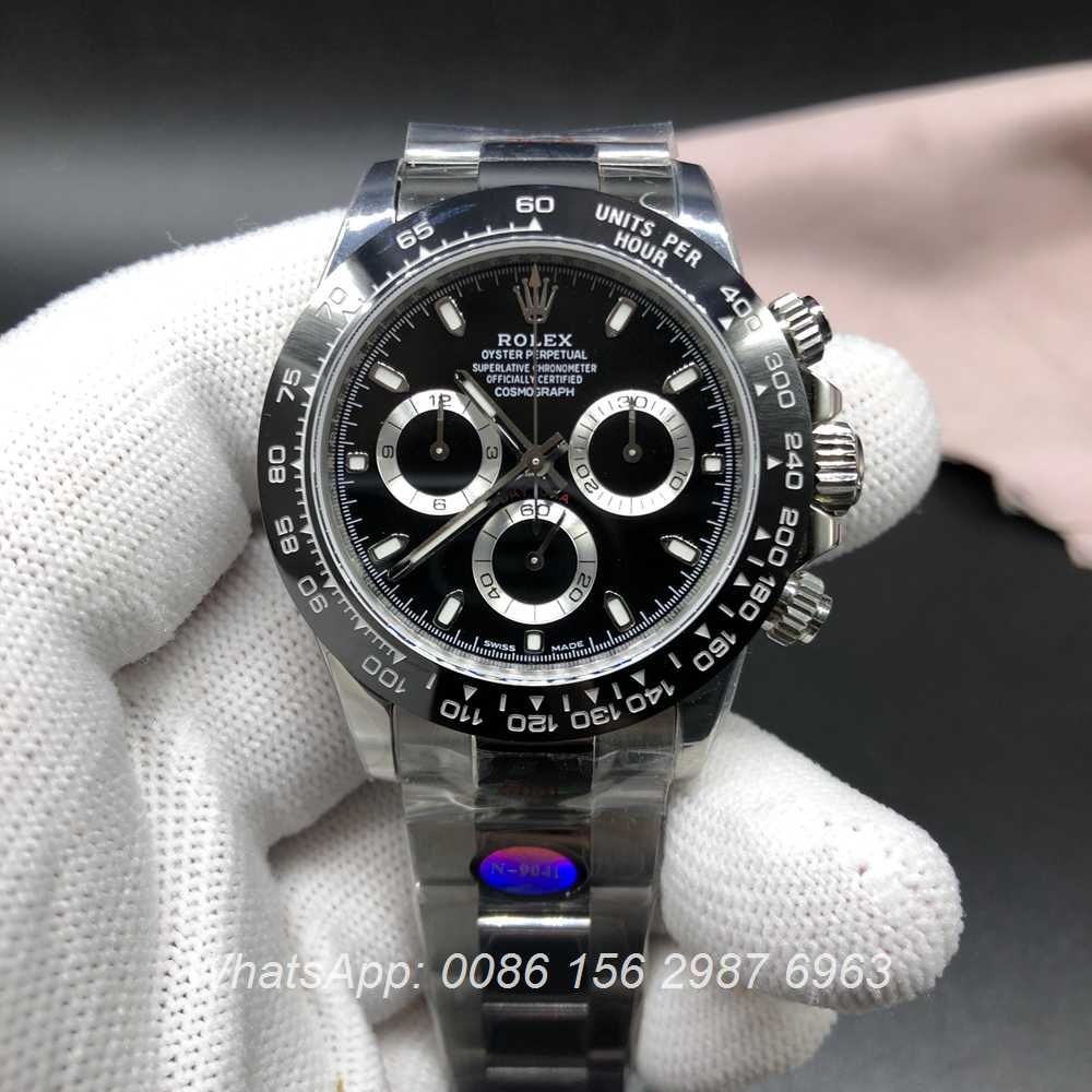 R330WT138, Rolex Daytona 4130 full works Noob factory 904L Best best