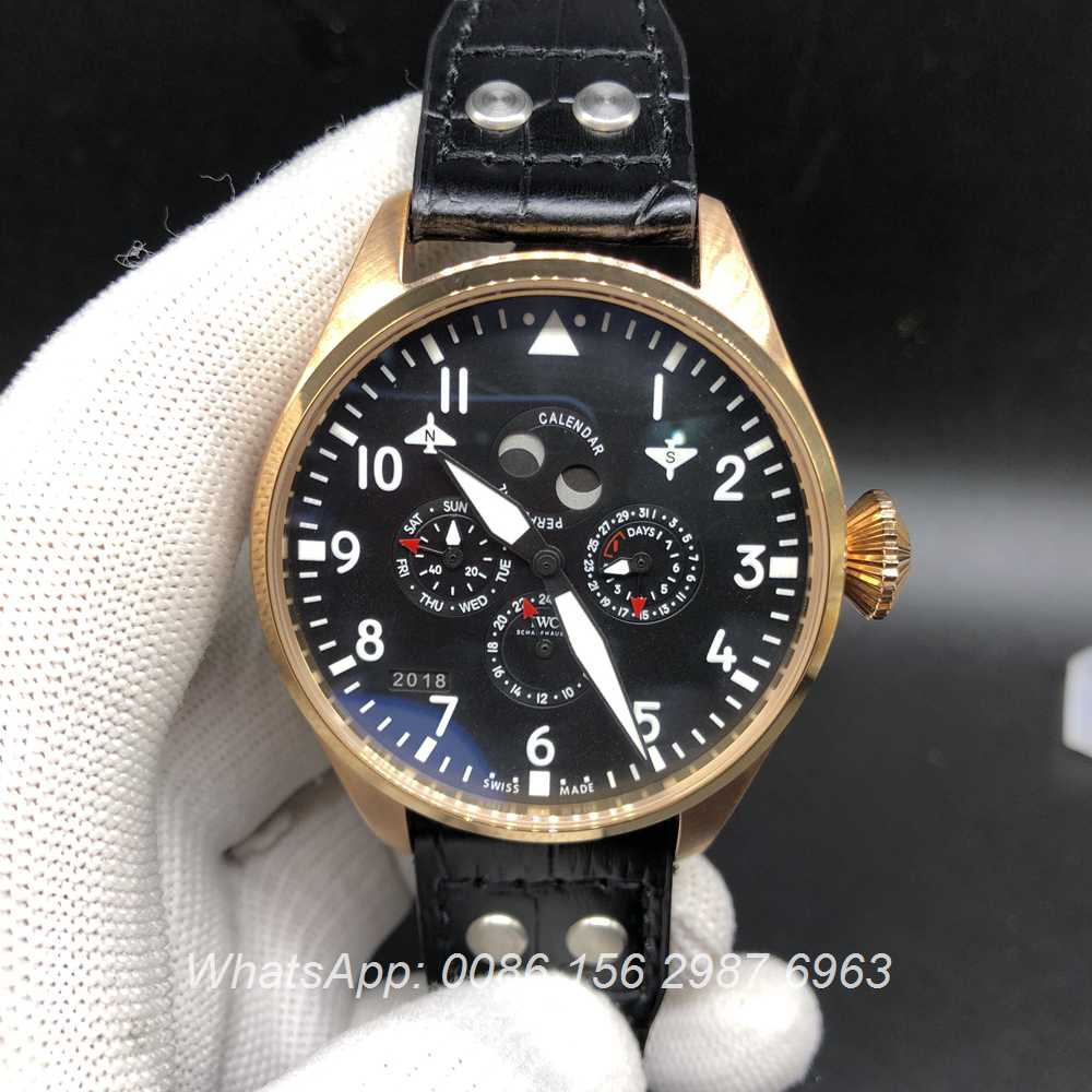 I0457151, IWC Perpetual calendar gold case 46mm year not work
