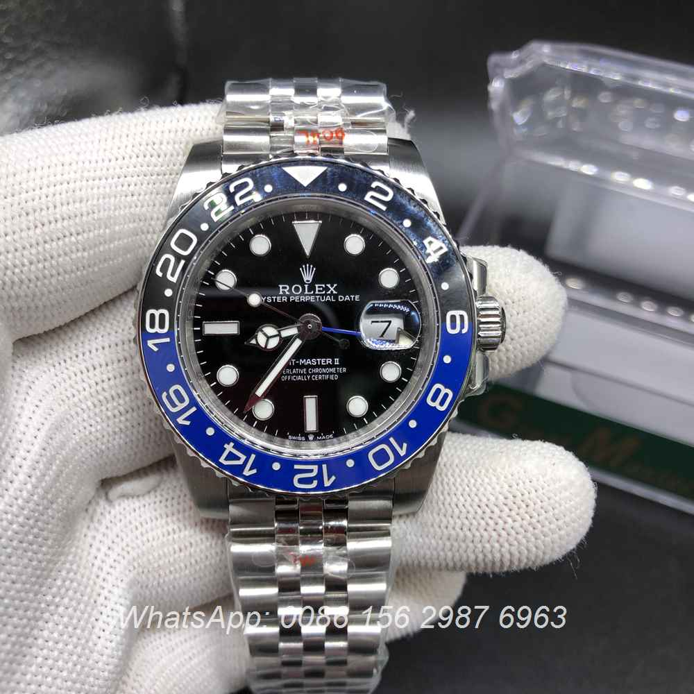 R185WT157, GMT Batman GM factory 2836 movement 904L Jubilee