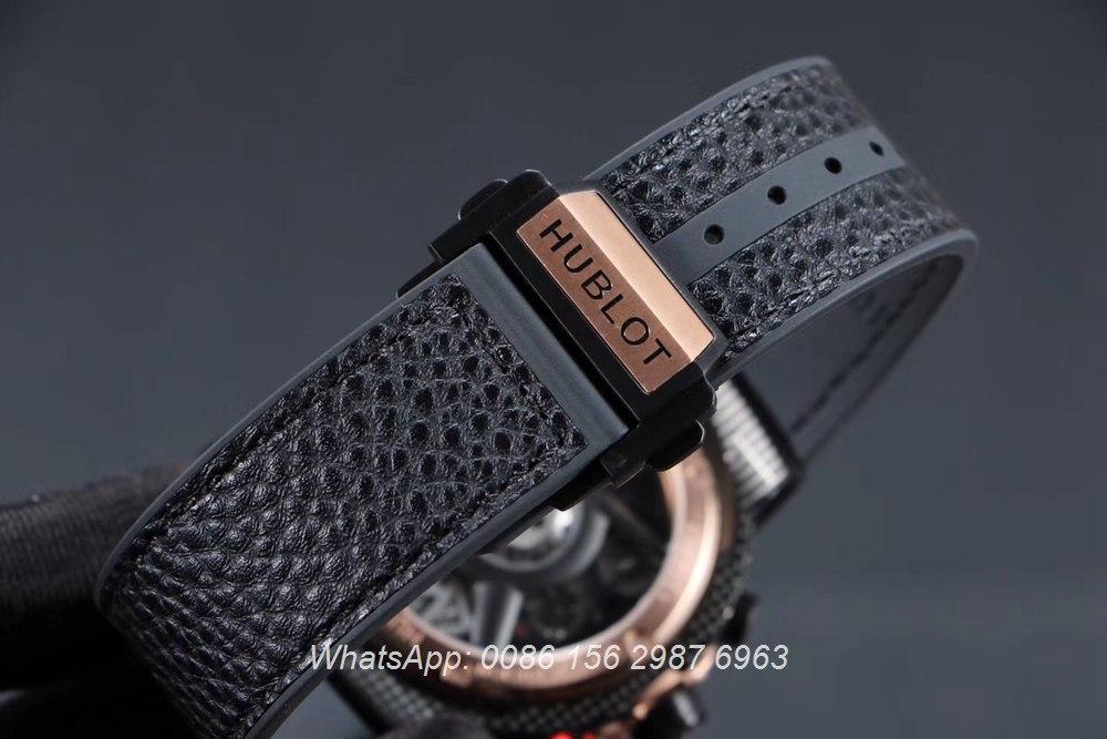 H070HL161, Hublot Ferrari quartz GT Vertical stripes case men's watch