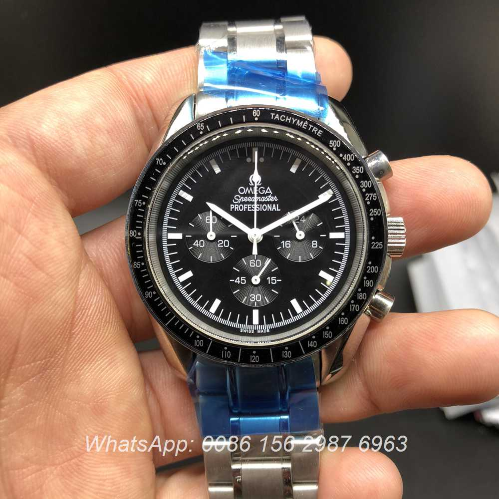 O023Mis172, Omega Speedmaster moon edition OS quartz stopwatch