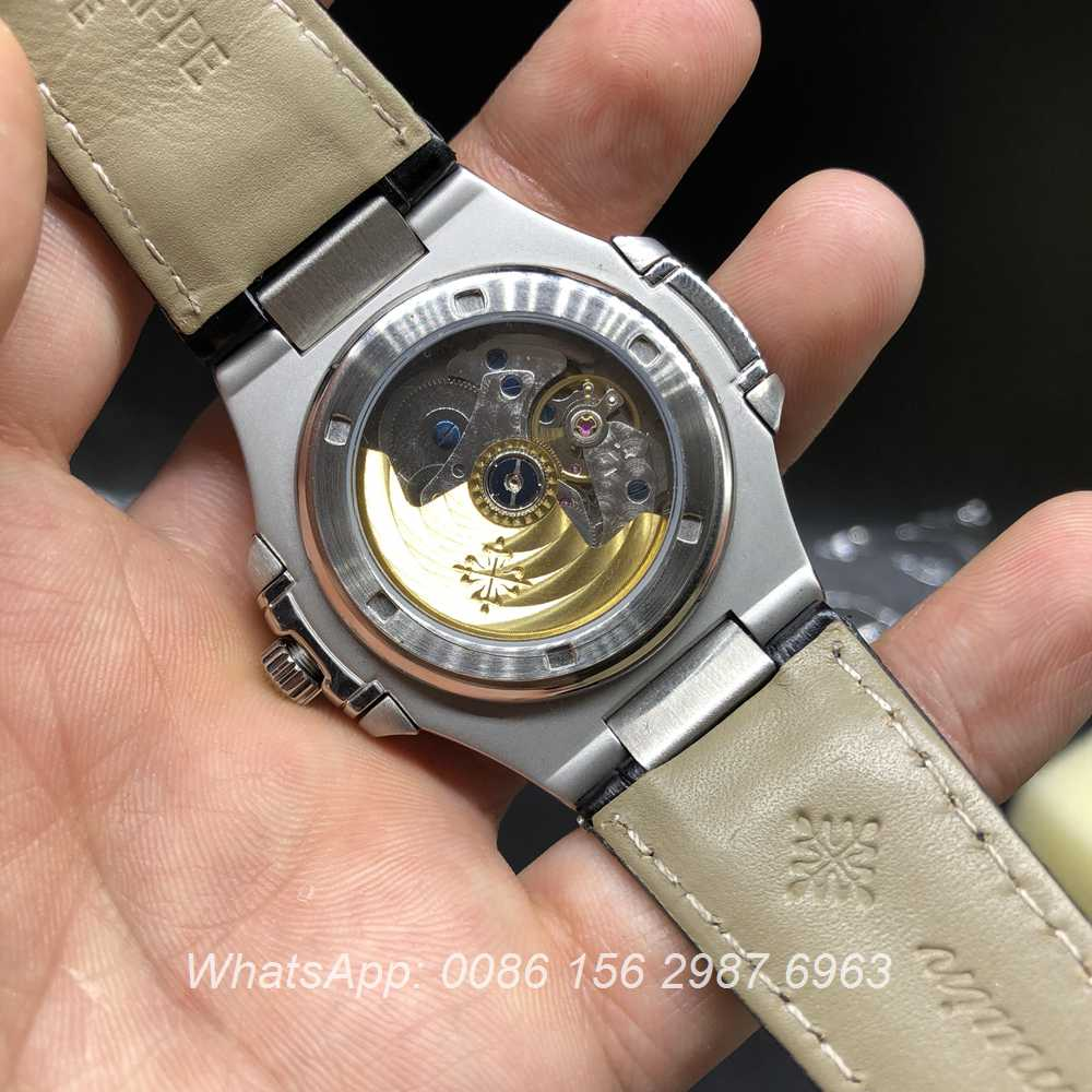 P036BL174, Patek Philippe 5726A automatic silver/gray