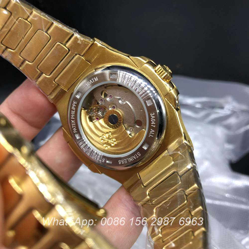 P025XJ180, Patek AAA 5711 automatic yellow gold case