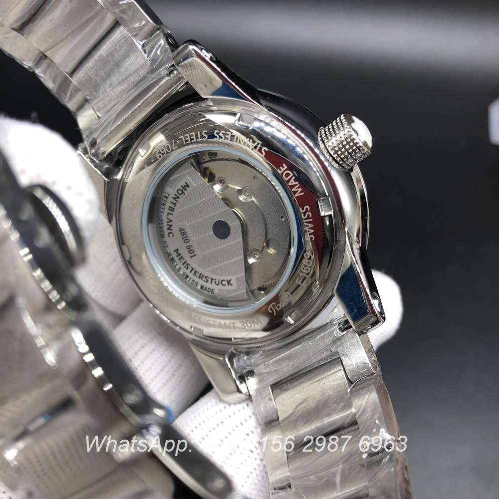M028Z173, Montblanc automatic glass back men's watch