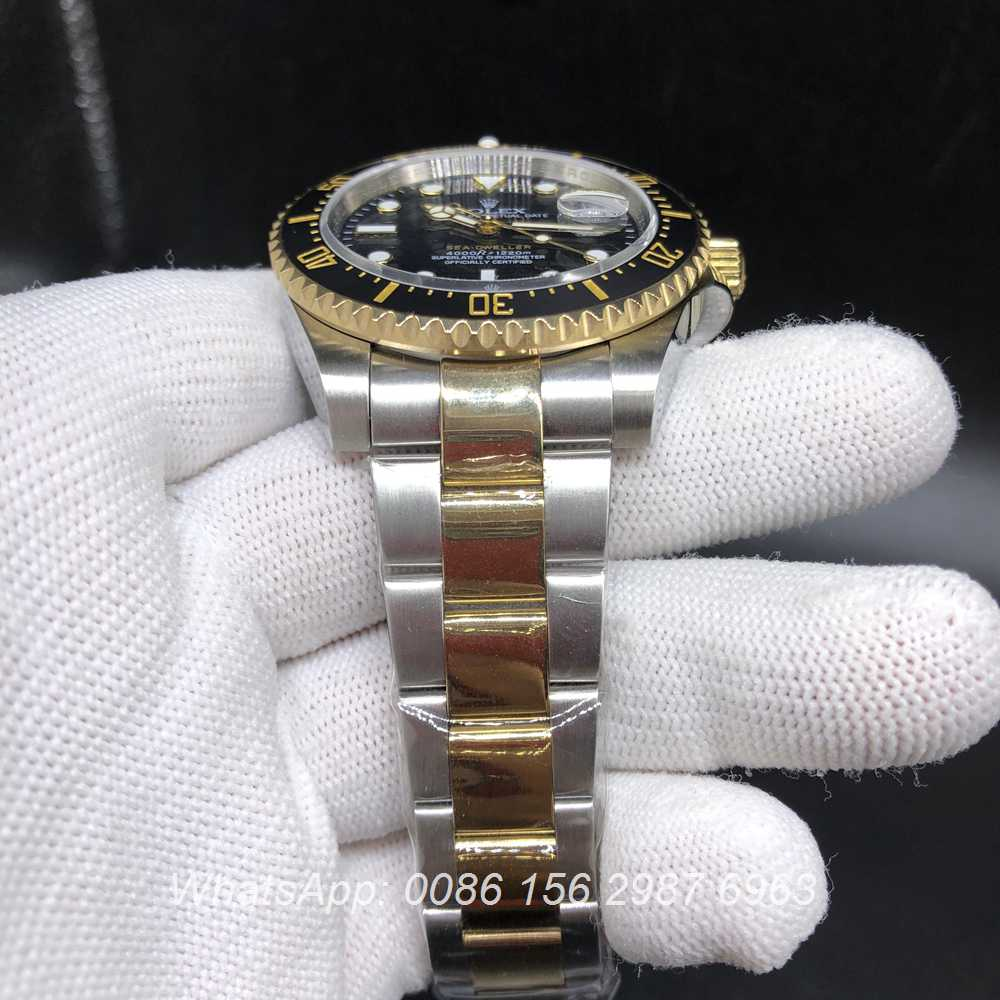 R140WT181, new SEA-DWELLER Noob factory 2836 2tone gold