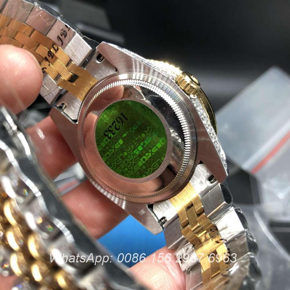 R105MH192, DayDate bi-color yellow gold case 40mm diamonds face jubilee strap