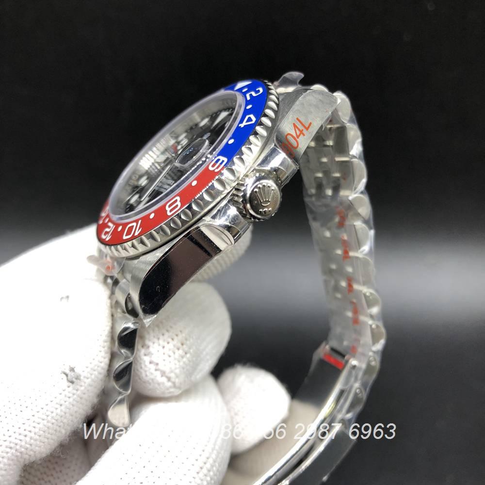 R185WT209, GMT Jubilee ceramic red/blue bezel 2836 GM facotry 904