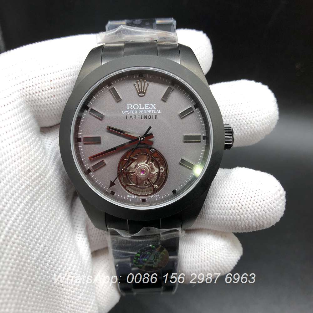 R385WT205, Milgauss Tourbillon black 116400 JB factory Top quality