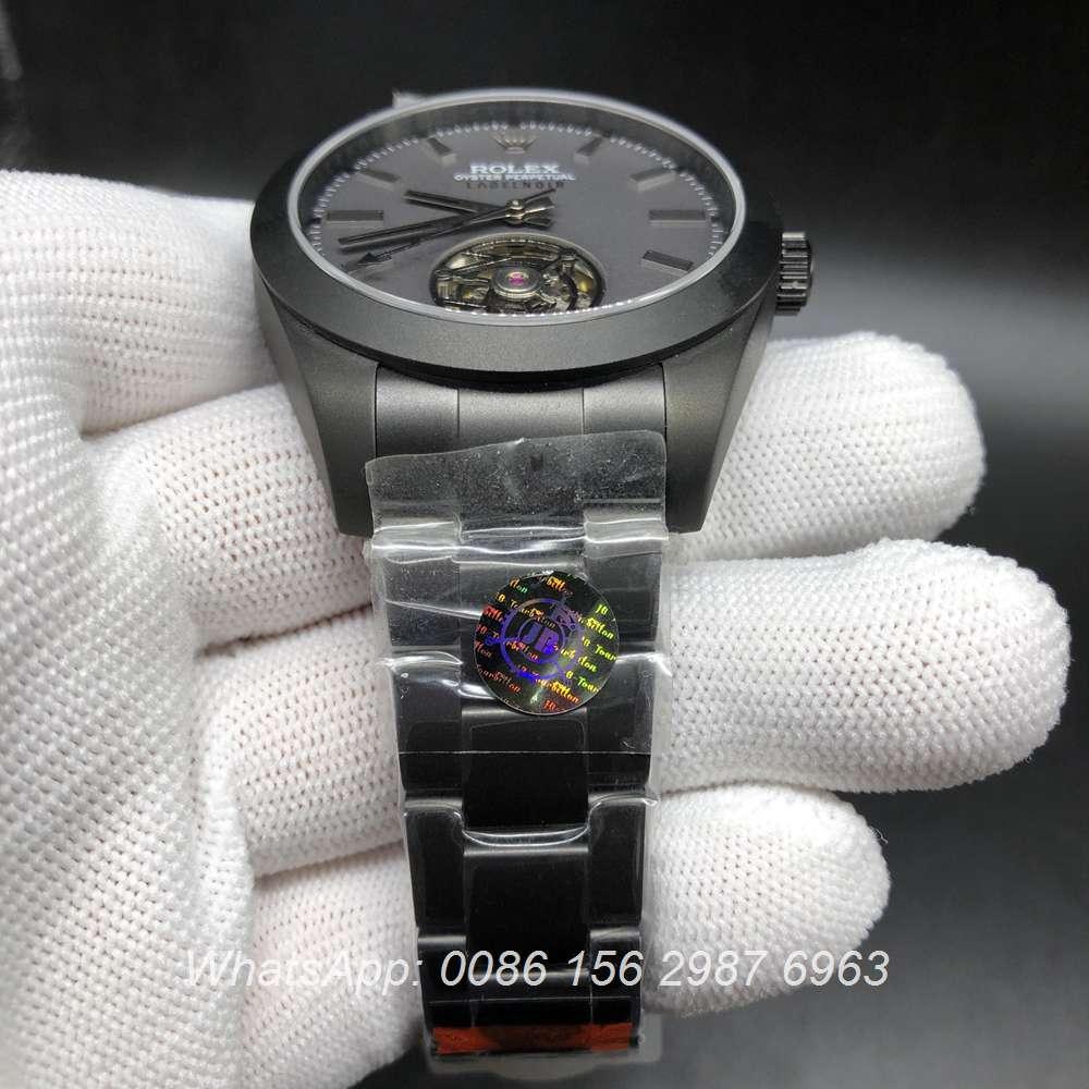 R385WT205, Milgauss Tourbillon black 116400 JB factory Top quality