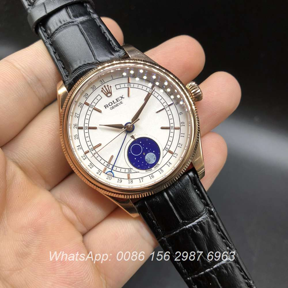 R042MH220, Cellini rose gold automatic full works watch