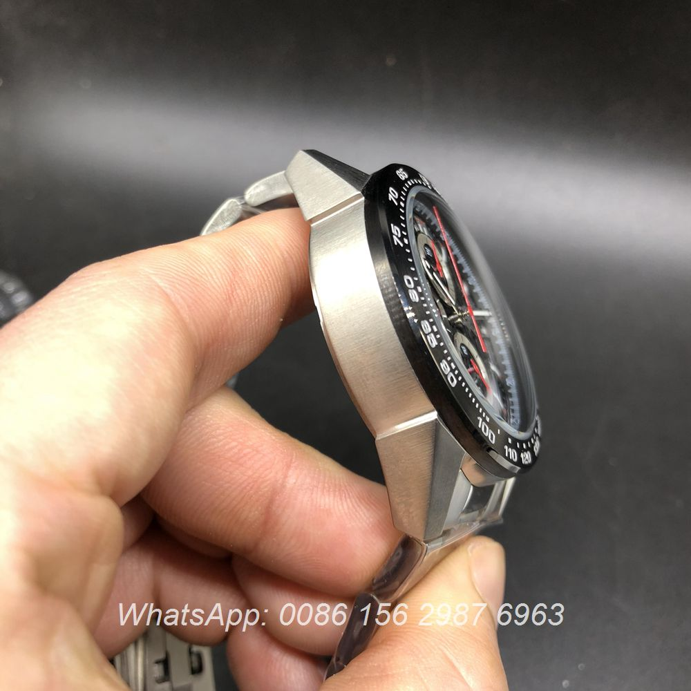 T025DF210, TAG Heuer 01 quartz 45mm Chronograph stopwatch