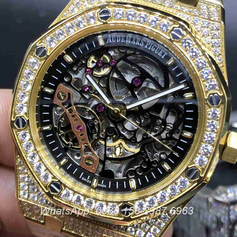 A115YC244, AP gold skeleton automatic AAA quality