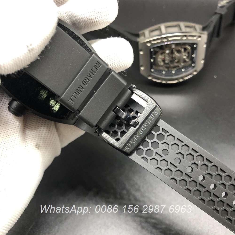 R575WT241, RM027 Tourbillon black Titanium case 42x50mm Eur factory