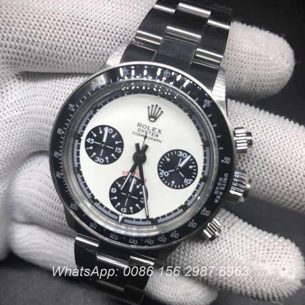R085KS240, Daytona Paul Newman 7750 chronograph retro style
