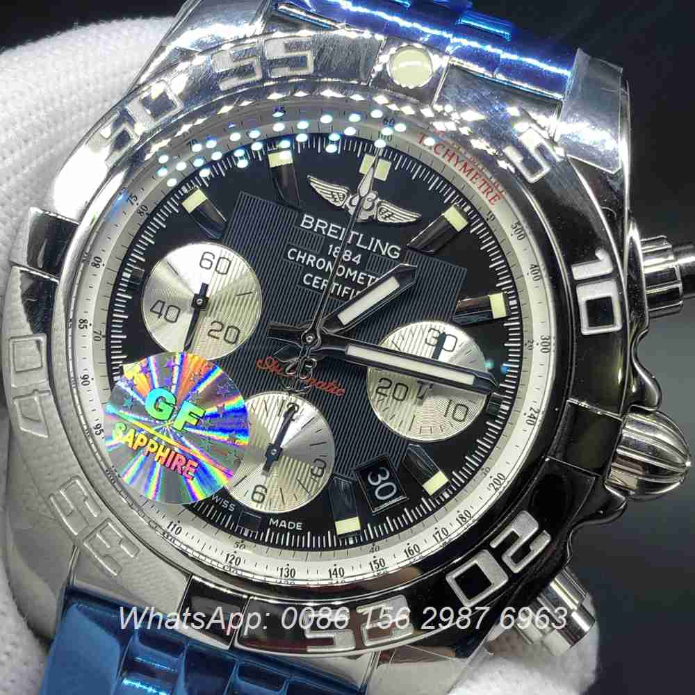 B160WT259, Breitling chronometer 7750 automatic GF factory Swiss grade