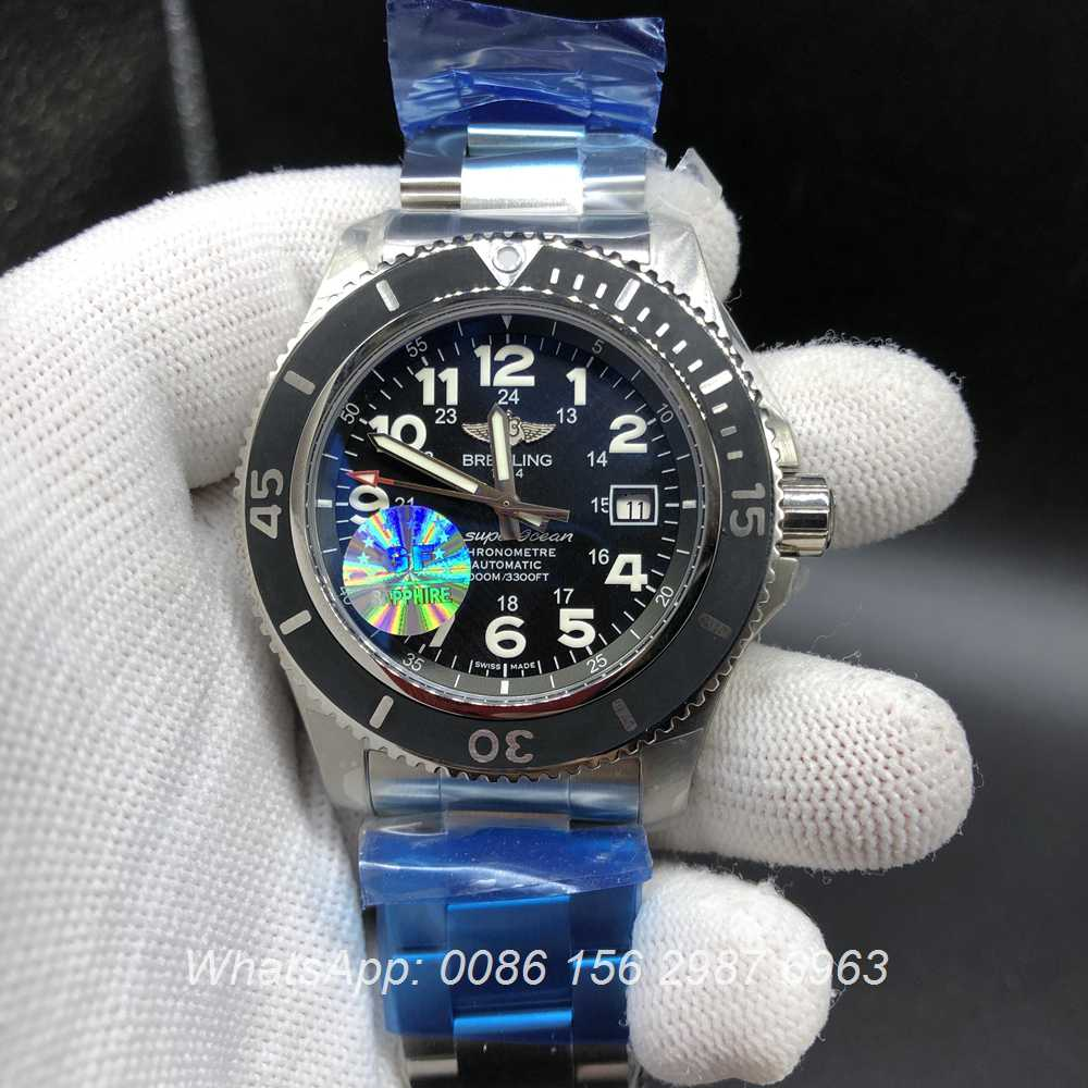 B145WT258, Breitling SuperOcean GF factory 2824 automatic 44mm